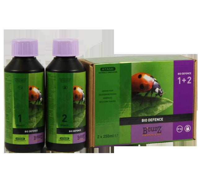 B'Cuzz Bio Afweer 1 & 2 - 2 x 250 ml