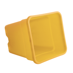 Plantcontainer 24x24x28,3 cm. 11 Liter geel