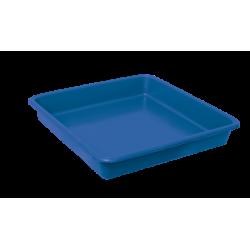 Opvangbak vierkant blauw tbv 11 Liter pot